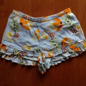 Patrons of Peace BOHO shorts XS